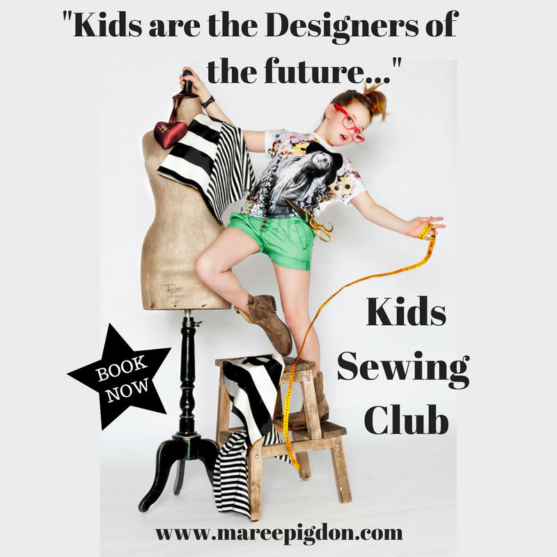 Kids are the designers of the future - Kids Sewing Club Geelong