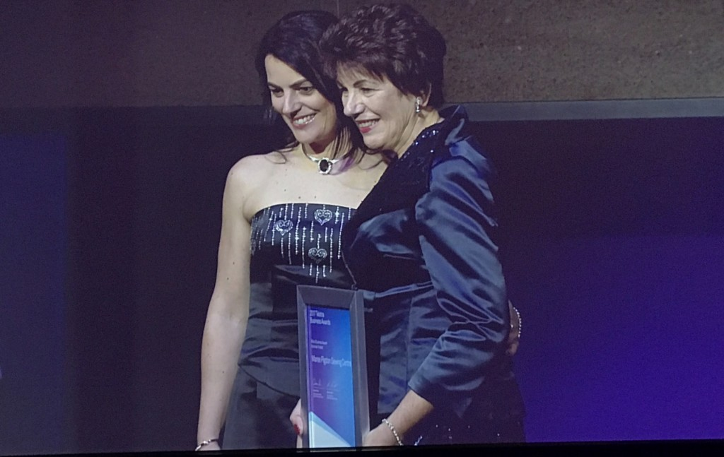 Maree Pigdon Sewing Centre - Telstra Business Awards 2017 -01