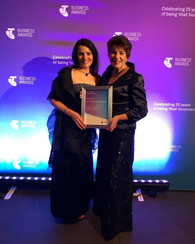Maree Pigdon Sewing Centre - Telstra Business Awards 2017 -06