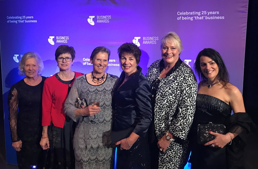Telstra Business Awards - Maree Pigdon Sewing Centre Group