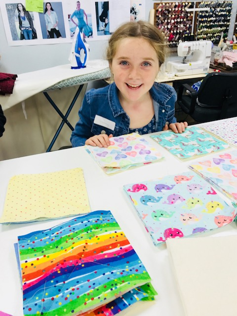 Kids Quilting Classes 10