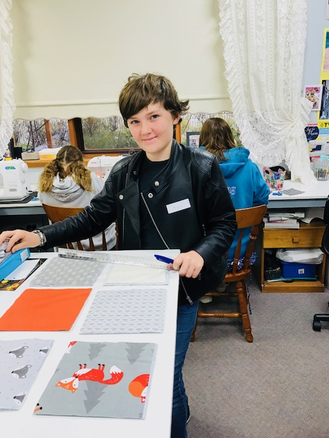 Kids Quilting Classes 12