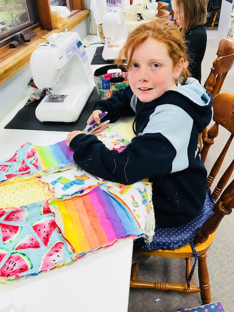 Kids Quilting Classes 16