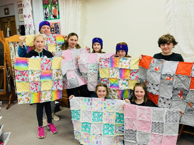 Kids Quilting Classes 21