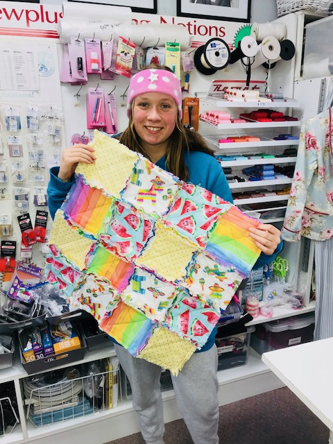 Kids Quilting Classes 5