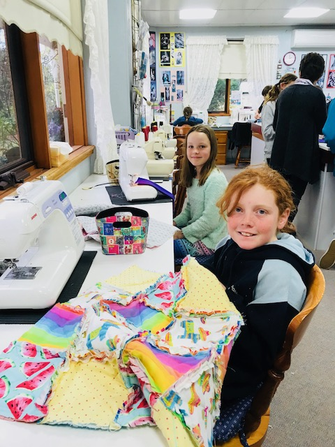 Kids Quilting Classes 6