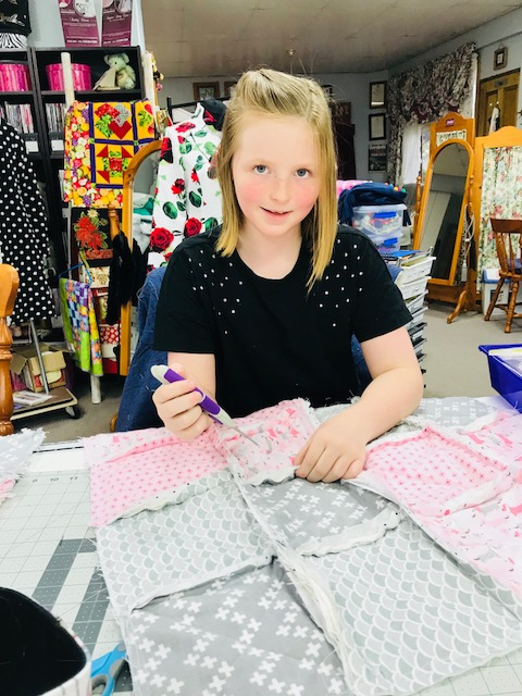 Kids Quilting Classes 8