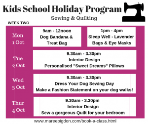 W2 - Kids School Holiday Program Spring