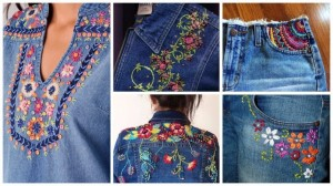 Denim Embroidery 02