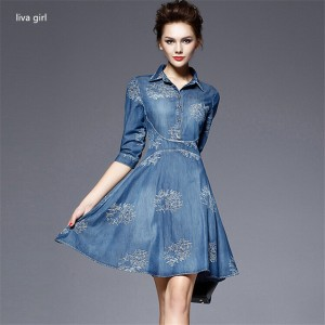 Denim dress 03