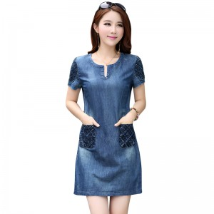 Denim dress 05