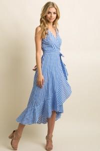 Gingham Dress 02
