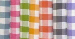 Gingham Fabric 01