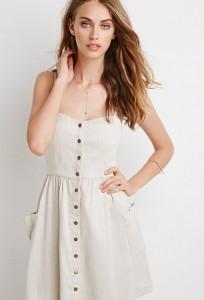 Linen Blend Dress 01