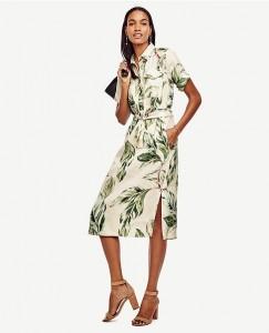Linen Blend Dress 04