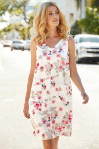 Linen Blend Dress 05