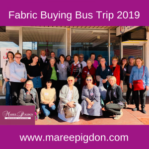 Fabric Buying Bus Trip Group Photo