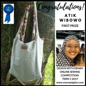 Winners Design With Denim - 1st Atik Wibowo