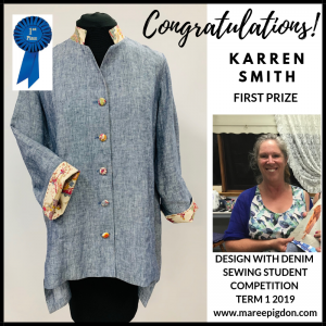Winners Design With Denim - 1st Karren Smith