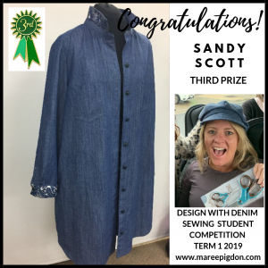 Winners Design With Denim - 3rd Sandy Scott