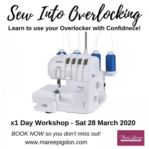 Sew Into Overlocking Workshop No.1 - 01