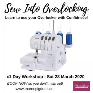 Sew Into Overlocking Workshop No.1 - 01