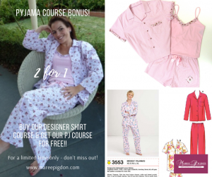 2 for 1 Offer - Beginner PJ Online Sewing Course