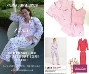 2 for 1 Offer - Beginner PJ Online Sewing Course